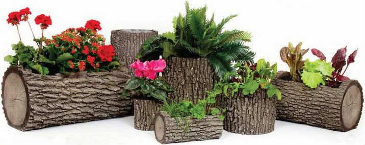 Кашпо для цветов из